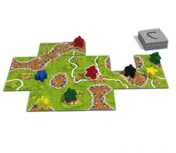 Carcassonne board game at board game goblin