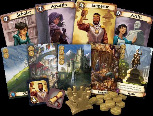 citadels board game at board game goblin