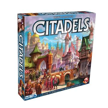 Citadels board game at board game goblins
