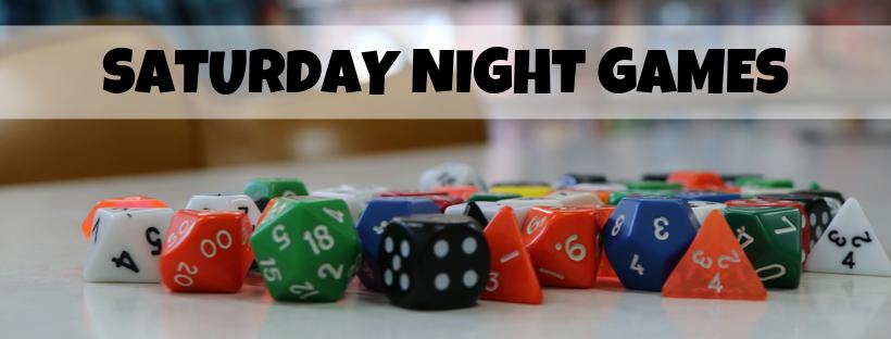 Saturday Night Games | Free Play